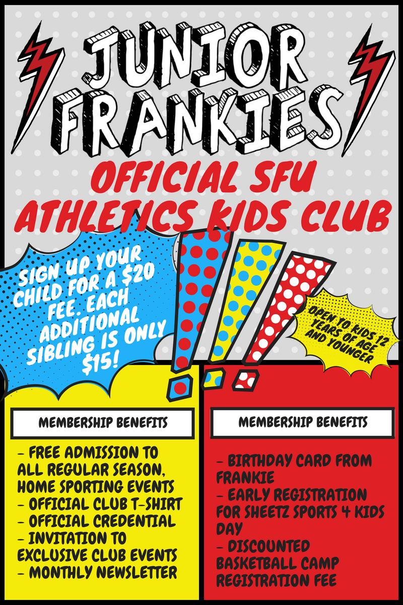 Junior Frankies-SFU Kids Athletic Club