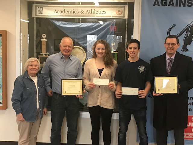 Lions Club Students of the Month for February