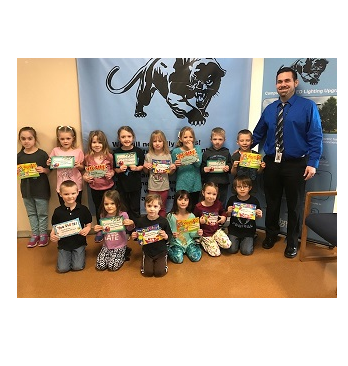 February Panther Pride Winners at PC Pre-Primary