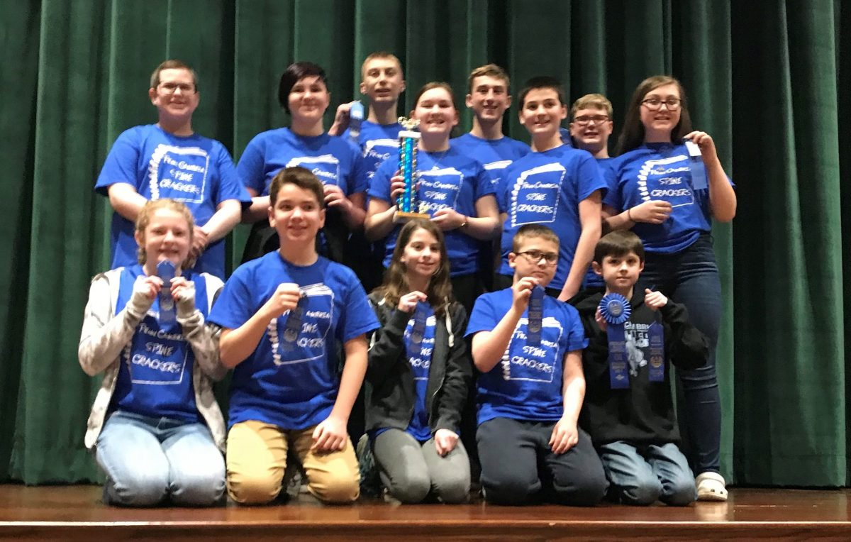 MS Reading Competition - IU8 Winners