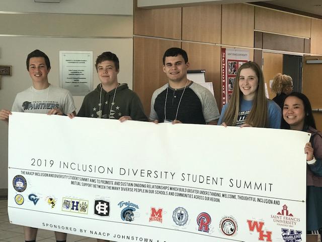 2019 Inclusion Diversity Student Summit at Saint Francis University