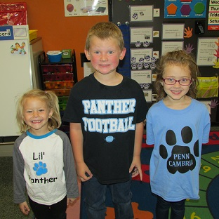 College Apparel Day at Penn Cambria School District