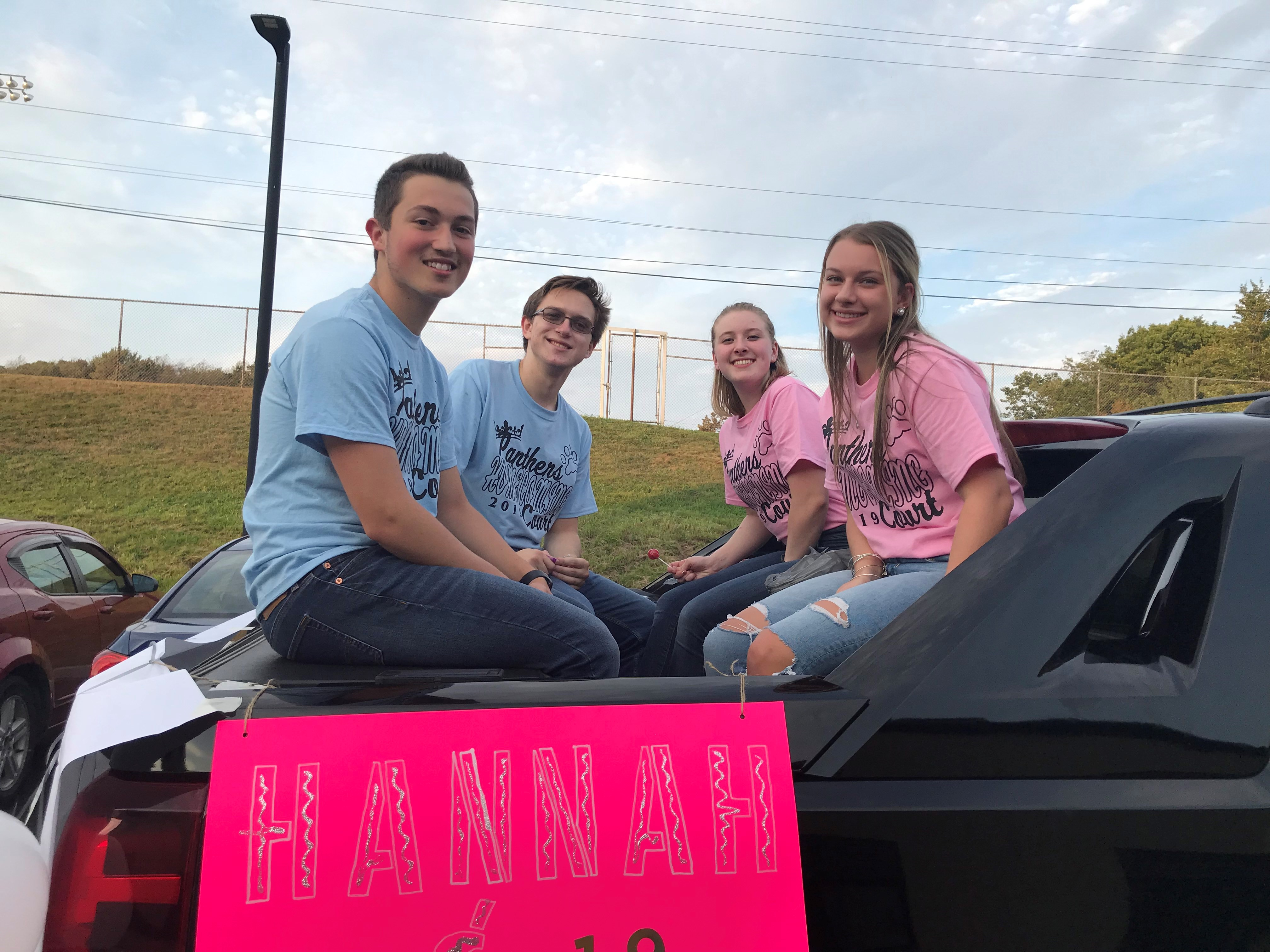 2019 Homecoming Court Candidates