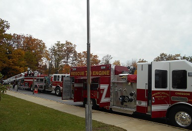 Local Fire Department Visits PCPP