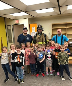 Local Fire Department Visit – Mrs. Zelenski's Class
