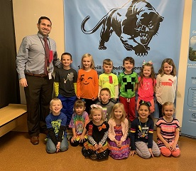 October Panther Pledge Award Winners