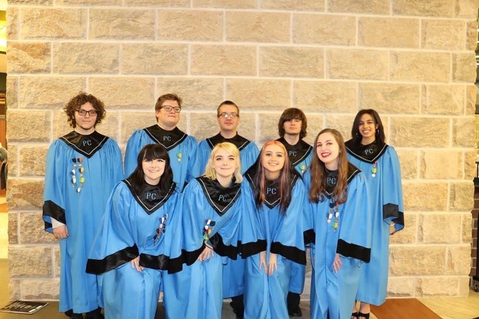 District Chorus Students