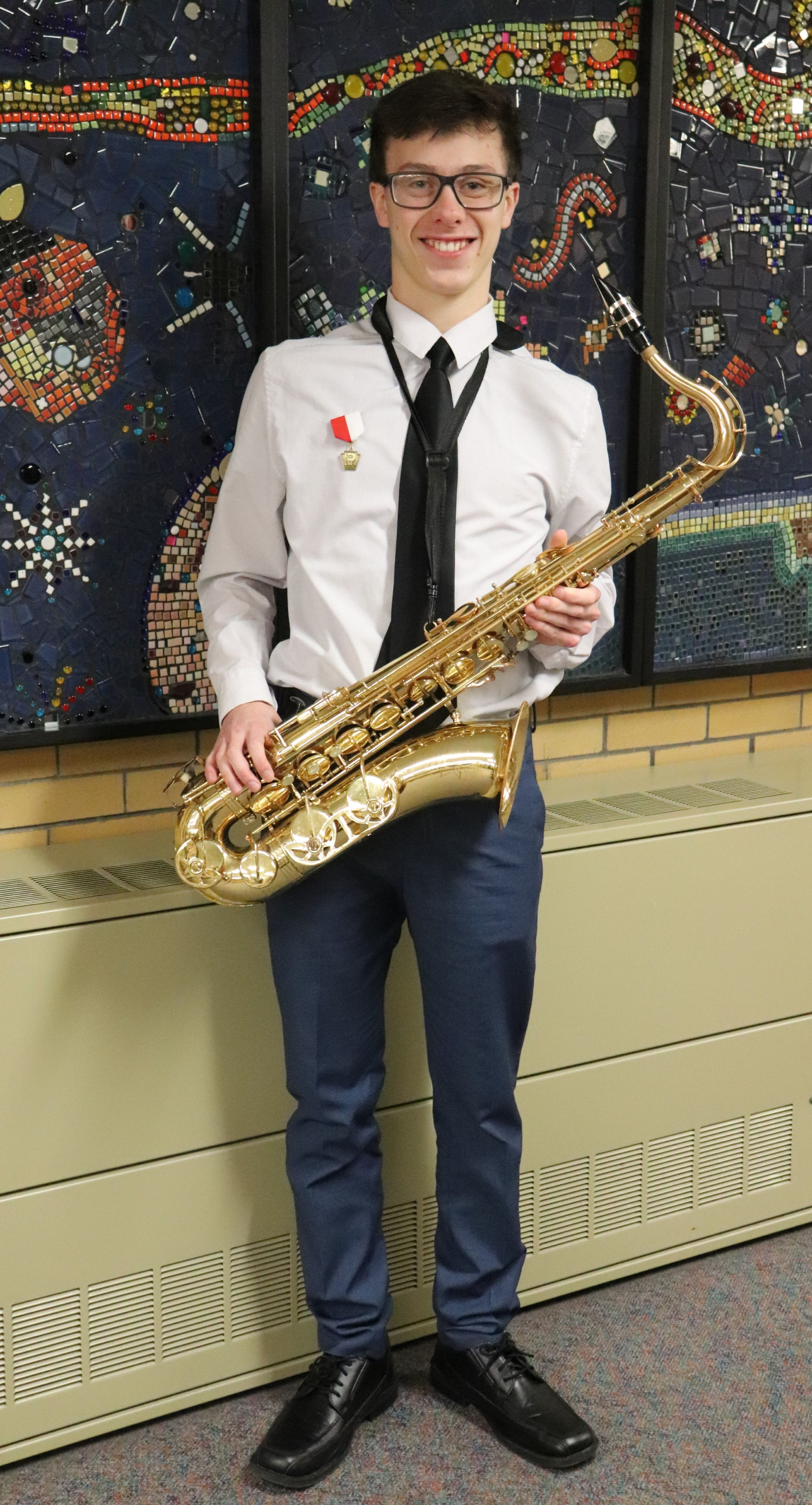 Gabe performed for the PMEA District 6 Jazz band
