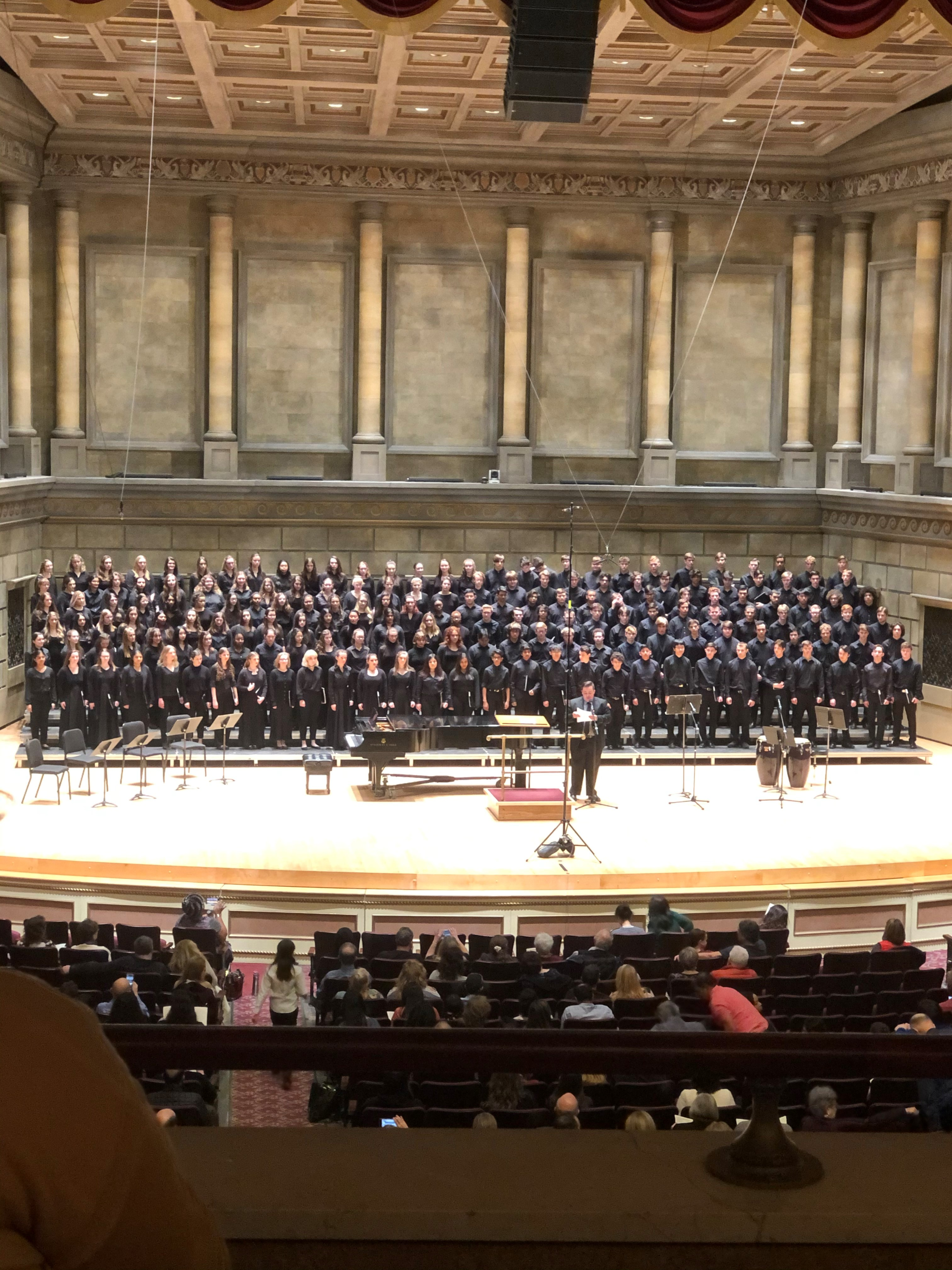 Students Attended ACDA Eastern Honors Chorus