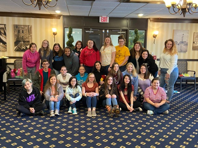 Vo-Tech Students Visit Cambria Care Center