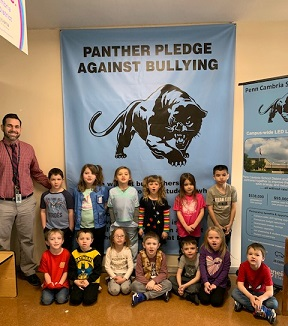 February Panther Pledge Award Certificate Winners