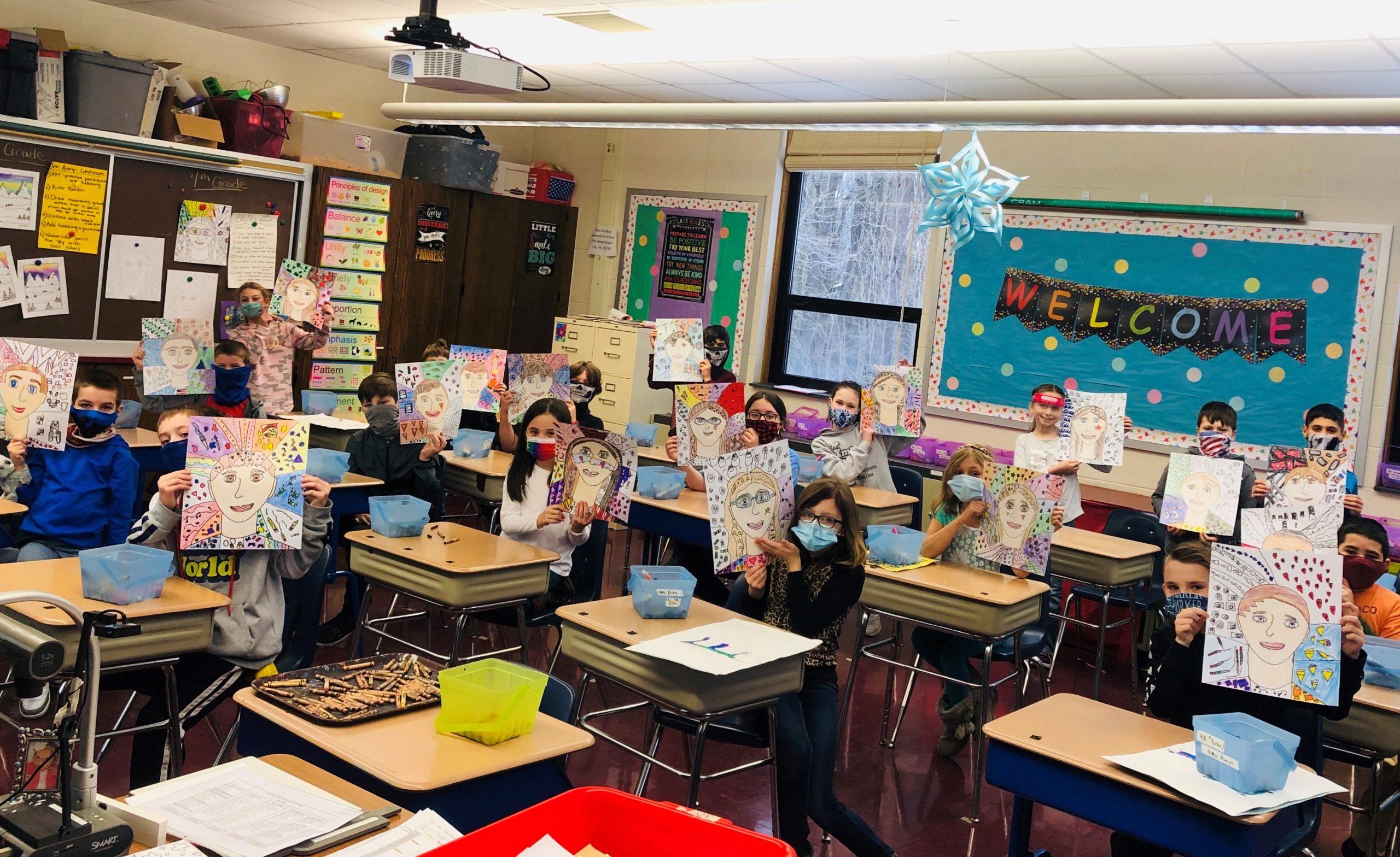 4th Grade Art – Mrs. Reed homeroom