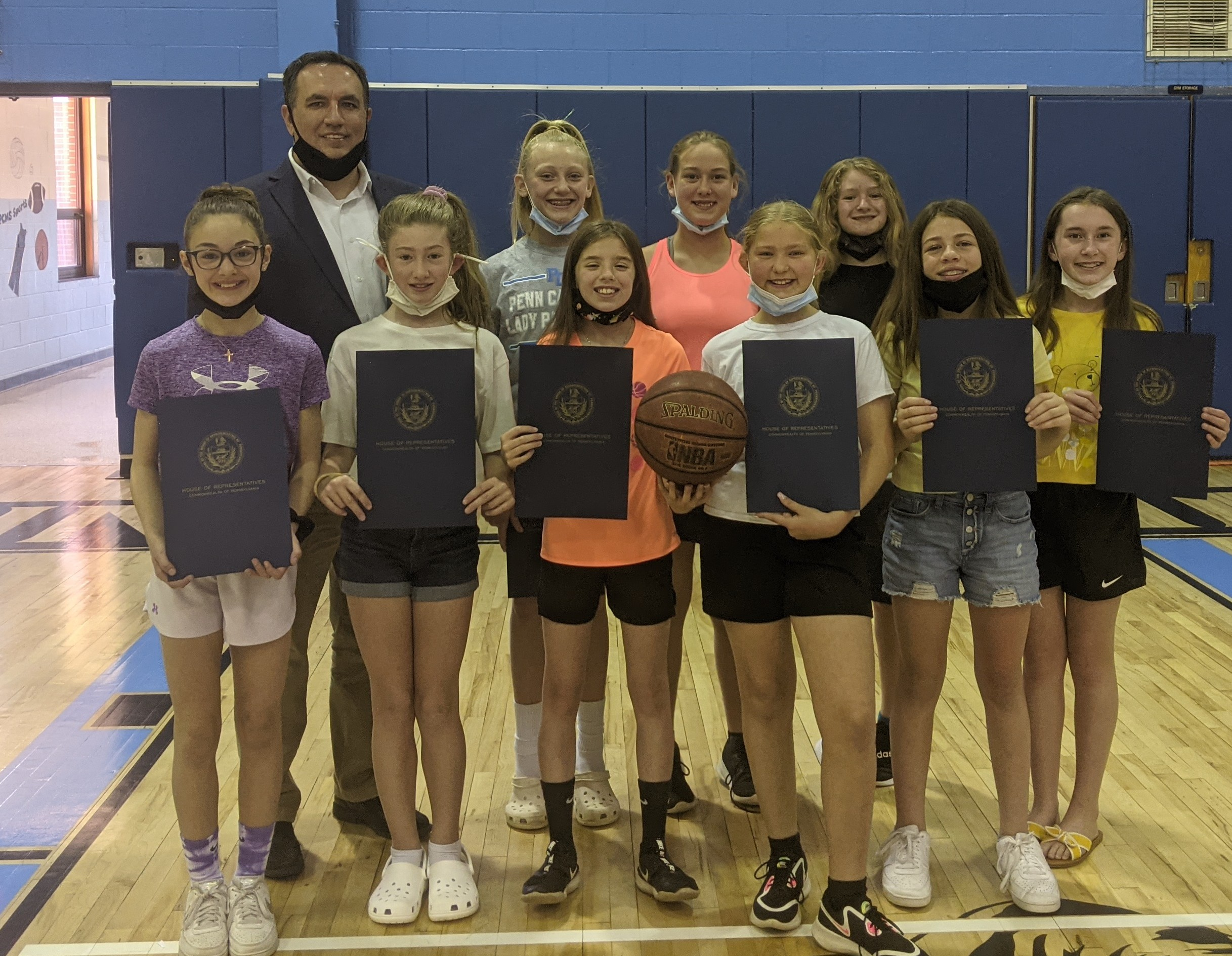 5th Grade Girls Basketball State Champs!